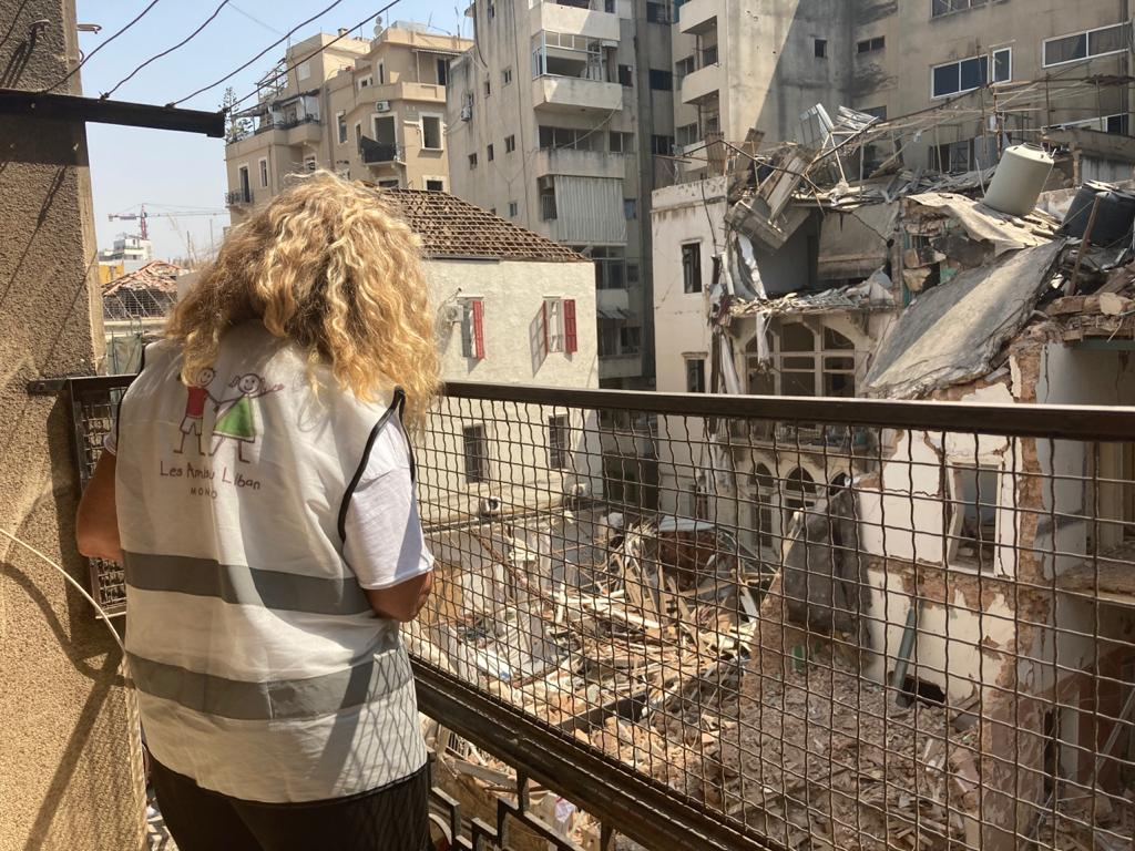 Emergency action for Lebanon : AMADE, Les Amis du Liban and Monaco Aide et Présence join forces to save the Saint Joseph Brothers School in Beirut